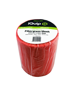 iQuip Red Adhesive Mesh 200mm x 50m