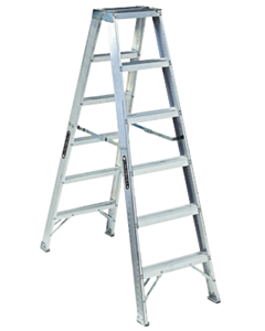 iQuip Double Sided Ladder 170 Kg 6 Step