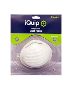 iQuip Disposable Dust Mask- 5pk