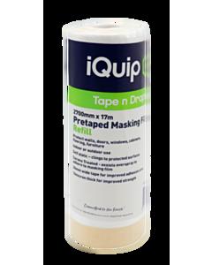 iQuip Window Masking Film Refill 2700mm x 17m