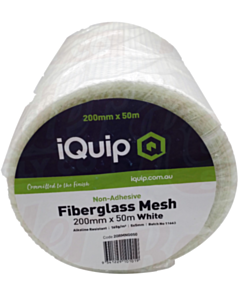 iQuip Non-Adhesive Mesh 200 mm x 50 m (White)