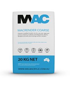 MAC Coarse Sand Render Base Coat 20kg