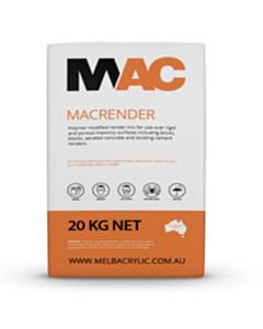 MAC Medium Sand Render Base Coat 20kg
